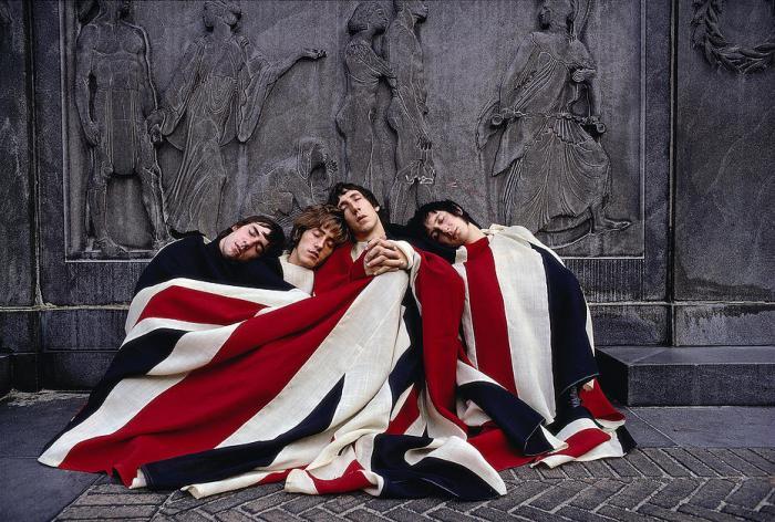 Les Who en 1968.