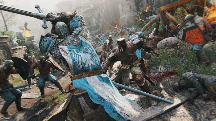 Violent, épique et brutal sont les trois mots qui me viennent en tête en voyant For Honor. On demande quand même à en voir plus !