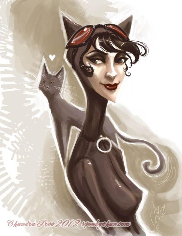 Catwoman par Chandra Free