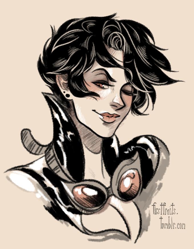 Catwoman par Crystal Curtis