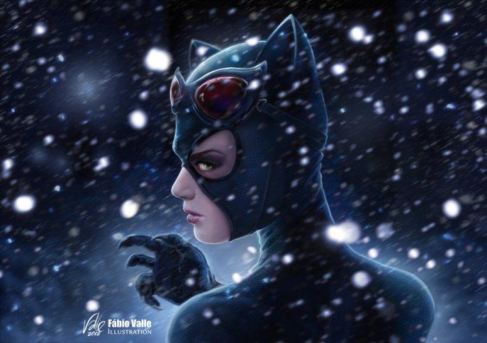 Catwoman par Fabio Valle