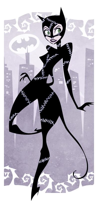 Catwoman par Hannah Buena