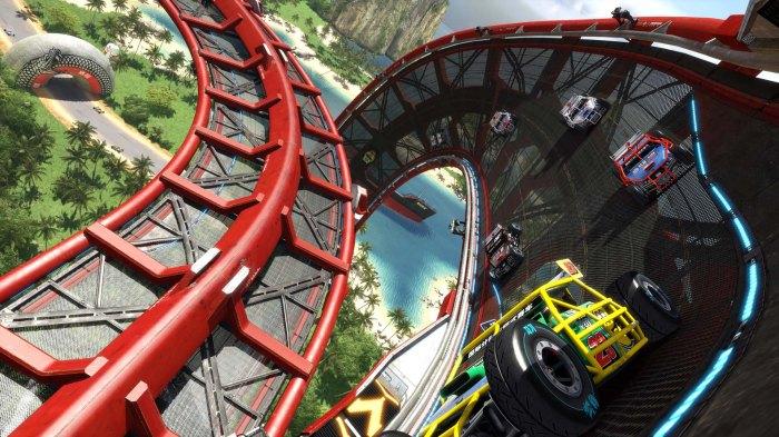 Trackmania Turbo s'annonce comme un jeu de courses à toute vitesse.
