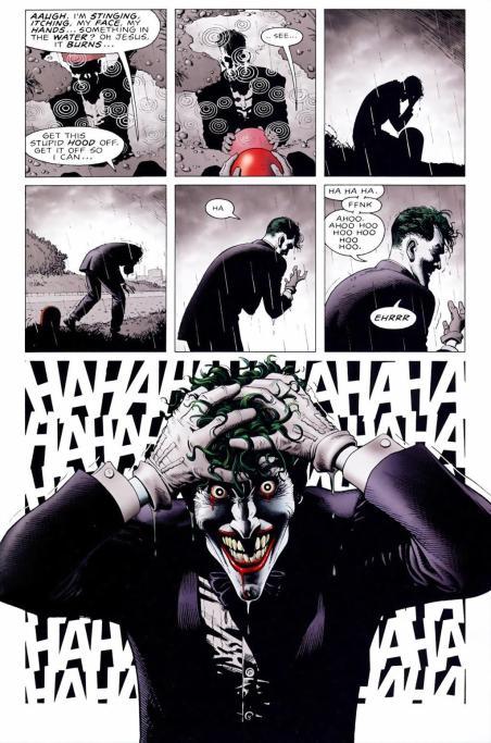 Les retours sur le passé du Joker nous expliquent comment ce dernier est devenu le plus dingue des criminels de Gotham.