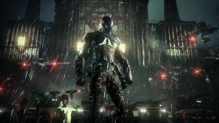 Arkham Knight tire son nom du nouveau méchant intégré dans le jeu : le Chevalier d'Arkham.