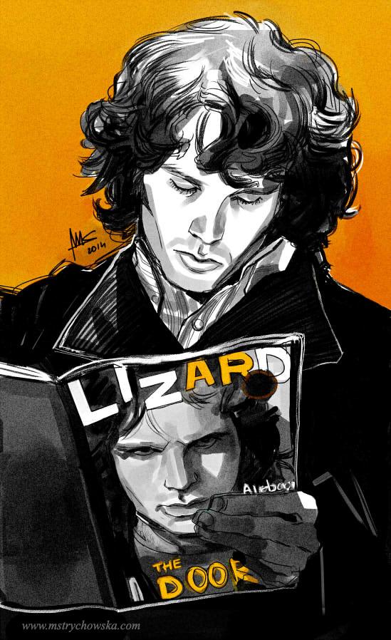Jim Morrison reads Lizard