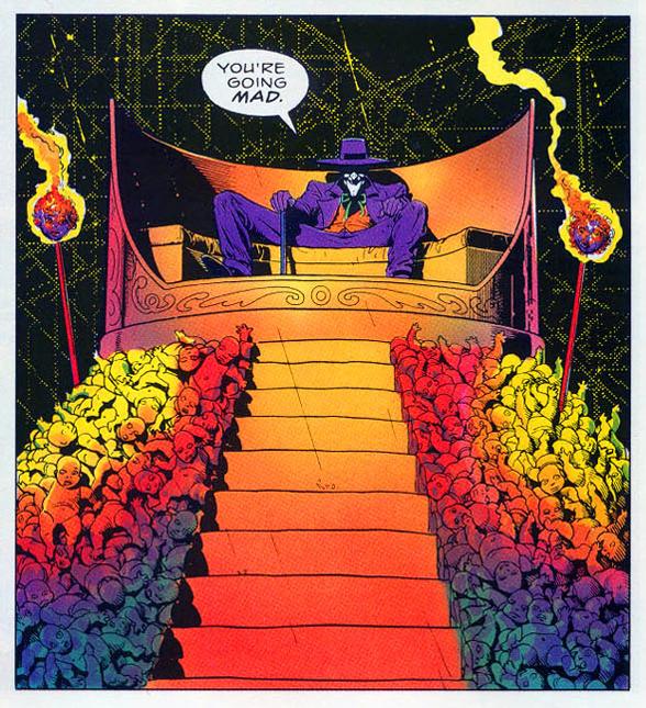 Les couleurs de l'édition d'origine étaient bien plus criardes. A comparer avec la vignette précédente.