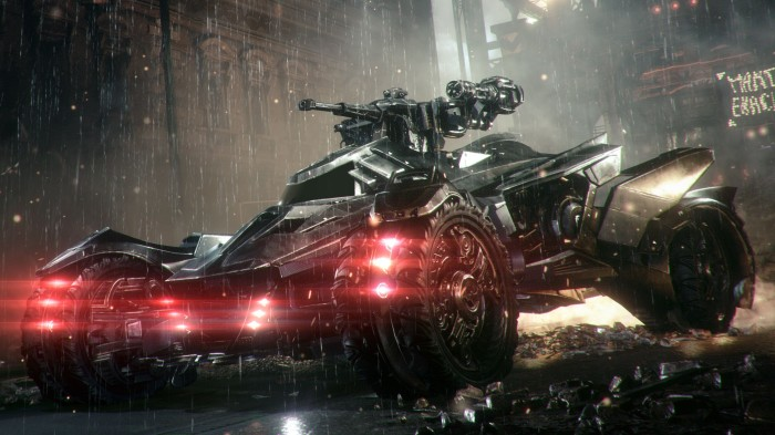 La coolitude absolue de la Batmobile est hélas submergée par un flot de répétitivité. Dommage...