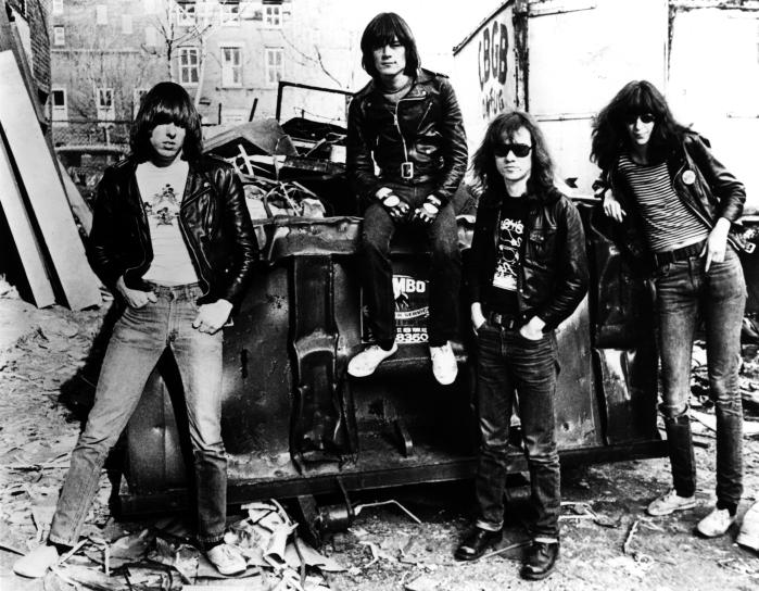 Les Ramones en 1976.