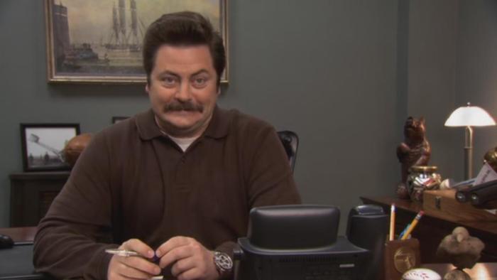 S'il y a des apartés qui valent le détour, ce sont bien ceux du personnage de Ron.