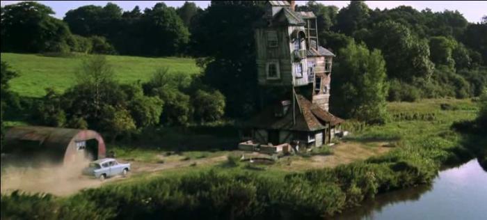 La difformité du Terrier des Weasley correspond idéalement à l'image que je m'en faisait en lisant les livres.