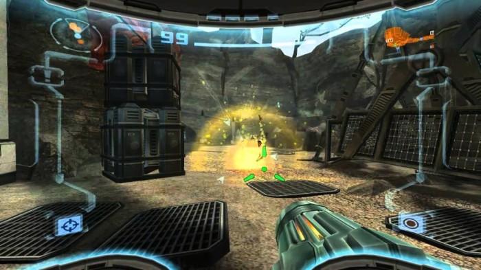 Avec des graphismes légèrement améliorés, ce portage Wii de Metroid Prime 2 : Echoes gagne également une interface épurée et surtout le passage d'un format 4:3 à plein écran.