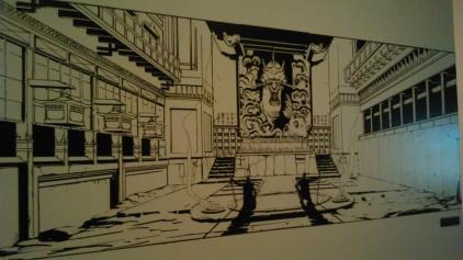 Les dessins préparatoires à l'encre de Chine pour Red Steel 2 sont magnifiques !