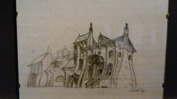 Les crayonnés de Laurent Gapaillard pour Dishonored sont superbes.