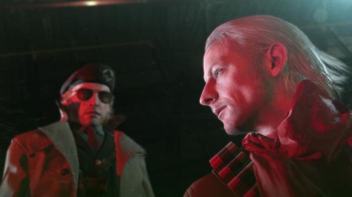 Big Boss a beau être le héros, Kaz et Ocelot constituent des personnages quasiment aussi importants que lui bien que secondaires.