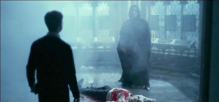Ce duel entre Harry et Malefoy était aussi un bon moment.
