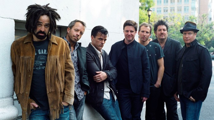 Les mecs de Counting Crows.
