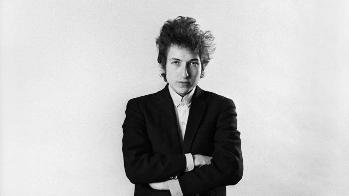 Bob Dylan, quelque part entre 1964 et 1965.