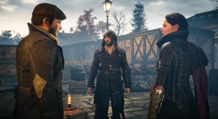 Incarner à la fois Jacob et Evie Frye (ici au tout début du jeu) aurait d'ailleurs pu donner lieu à un chouette mode coop. Mais Syndicate s'est tout simplement affranchi de toute forme de multi.