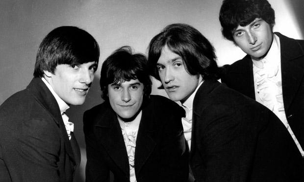 Les Kinks en 1964.