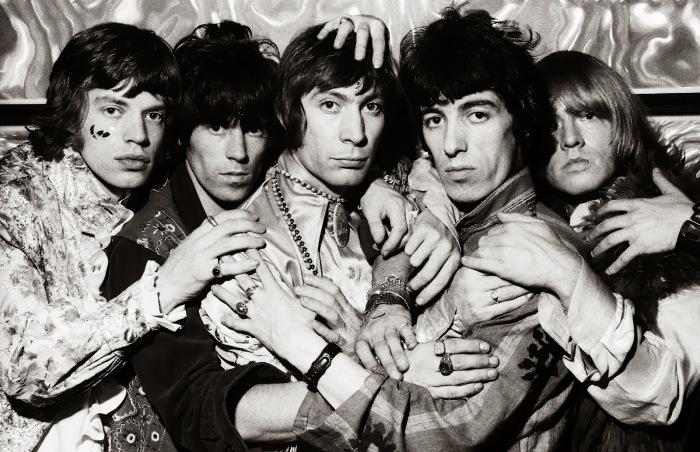 Les Rolling Stones aux alentours de 1968.