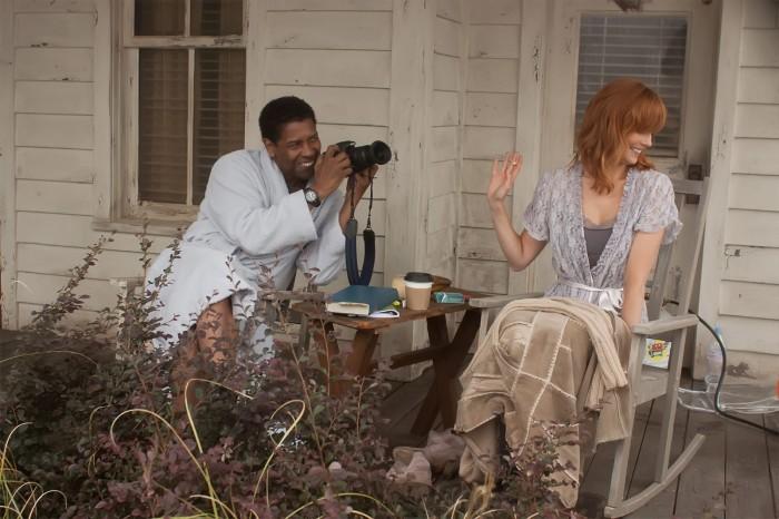 Denzel Washington et Kelly Reilly forment un très sympathique duo à l'écran.