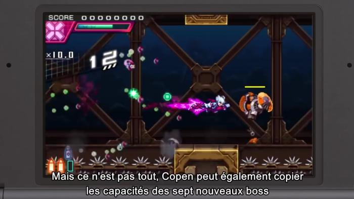 Azure Striker Gunvolt 2 a tout du jeu d'action en 2D ultra dynamique. Peut-être me laisserai-je tenter par la promo sur le premier épisode histoire d'avoir un aperçu de la chose.