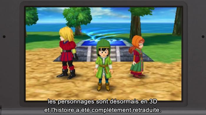Dragon Quest VII a eu droit à une refonte complète pour son arrivée sur 3DS.