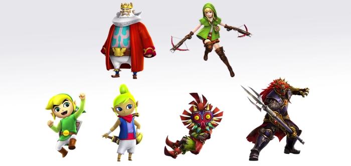 Cinq nouveaux personnages et le trident de Ganondorf, voilà ce qui attend les possesseurs de la version Wii U qui utiliseront leur code avec cette itération 3DS.
