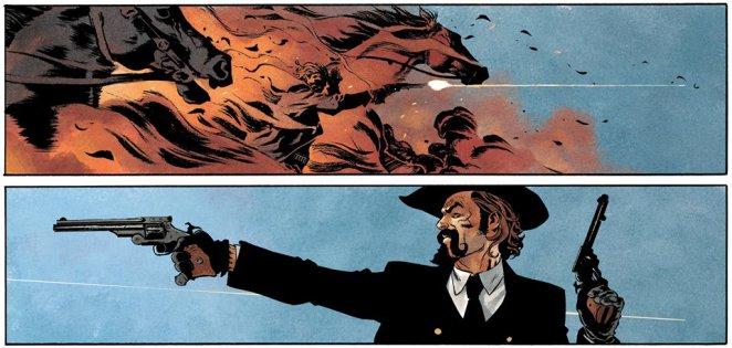 Le personnage de Sykes est particulièrement tourmenté et offre ainsi une dimension au récit que les westerns n'exploitent pas toujours suffisamment.