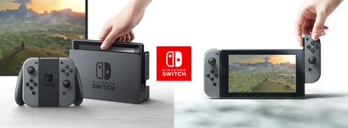 Console portable pour jouer sur sa télé ou console de salon à emmener partout ? Nintendo choisit de présenter la Switch selon ce deuxième angle.