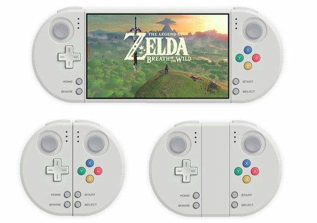 Cette version de la NX imaginée il y a quelques mois aura sans doute été la plus approchante de ce que la Switch est au final !