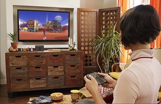 Un tout nouveau Super Mario a été brièvement montré dans la vidéo d'annonce, ce qui laisse tout à fait croire à sa présence dans le line up de lancement.