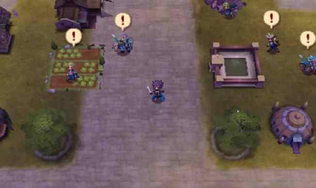 Le château est votre place forte, où vous pourrez préparer tous les aspects techniques avant la bataille, consolider les liens entre vos unités, acheter des armes, etc... L'image est ici tirée de la version Conquête.