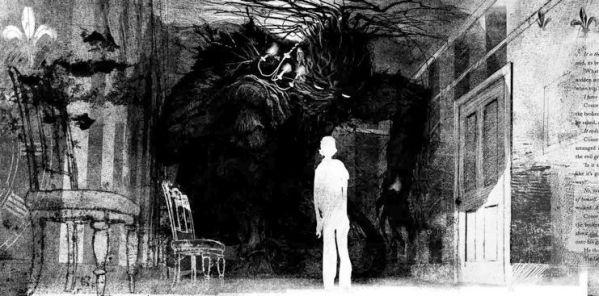 Quelques Minutes Après Minuit est l'adaptation de la nouvelle éponyme de Patrick Ness, illustrée par Jim Kay.