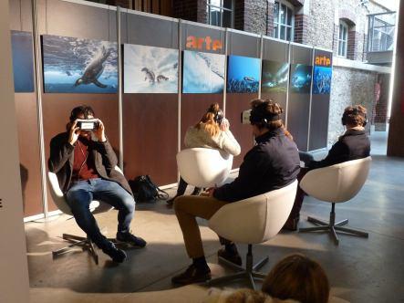 Arte VR proposait de découvrir des paysages hors du commun.