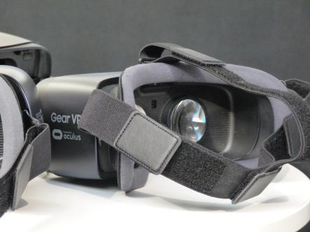 Casque Gear VR par Oculus.