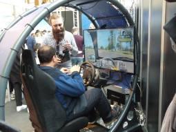 Harfang 3D a notamment conçu des simulations automobiles dignes des meilleurs programmes de préparation au permis de conduire.