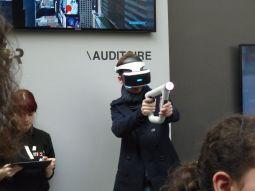 """Les """"attractions"""" MK2 VR (en accès continu au MK2 Bibliothèque de Paris) étaient présentes sur le salon."""